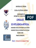 Tema 8. Introduccion Al Lenguaje Prolog