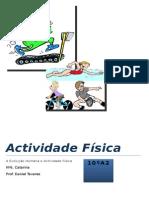 Trabalho de Educação Física - A Atividade Física e condição física