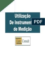 Utilização de Instrumentos de Medição