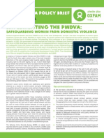 Implementing the PWDVA