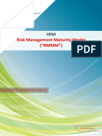 IIRM Risk Management Maturity Model (RMMM)