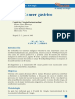 Documento ExternoCancer Gastrico