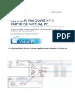 Instalar Windows Xp a Partir de Virtual Pc
