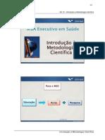 04 Slides ES 10 - Introducao a Metodologia Cientifica