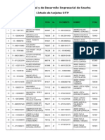 Listado Aprendices Tarjetas SITP