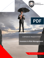 Investors in Risk Management Corporate Brochure