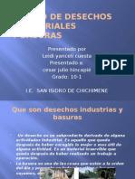 Manejo de Desechos Industriales