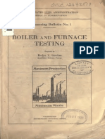 Boiler and Furnace Testing