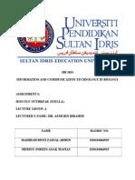 SBI Assignment 3 (Hard copy)