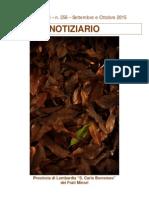 Notiziario 256 - Frati Minori di Lombardia
