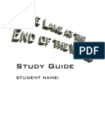 The Lake at the End of the World Study Guide