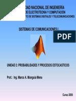 Probabilidad y procesos estocásticos