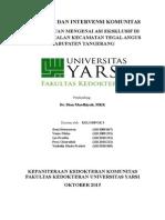 Cover Diagnosis Dan Intervensi Komunitas
