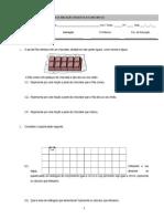 Ficha de Avaliação Diagonóstica - 5.º Ano - SIMAO