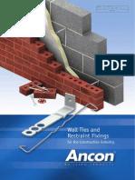 Wall Ties & Restraint Fixings