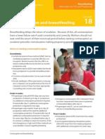 Fact Sheet 18 breast feeding