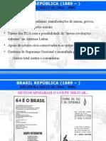 aula Brasil República - Ditadura Militar