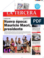 Diario La Tercera 23.11.2015
