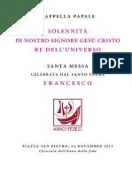 Libretto Chiusura Anno Fede