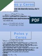 Polos y Ceros