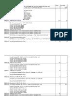 Inventory Item List (YARD)