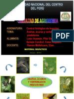 CONTROL BIOLOGICO DE PLAGAS Y ENFERMEDADES