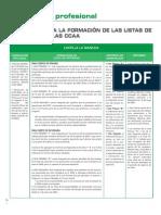 Listas Interinos Criterios Varias CCAA 2008