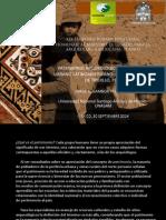 Ponencia Patrimonio Moche en la ciudad de Trujillo, Perú, Simposio Piña Chan, Ciudad de México, 30 Sep 2014
