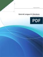 Guia Español A Literatura