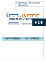 Manual de Organización INTEC
