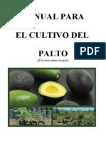 Manual del Cultivo De Palto l