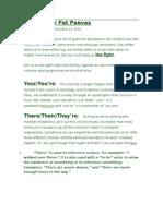 5 grammar pet peeves