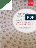 Greenblatt ,Stephen Clinamen. Cum a început Renaşterea.pdf