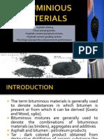 Bituminious Materials