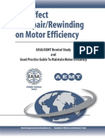 The Effect of Repair_Rewinding on Motor Efficiency — EASA_AEMT