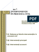 intervinientii in procesul civil