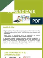 Aprendizaje II