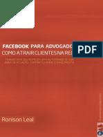 E-book | Facebook para advogados