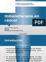 Inmunoterapia en Cancer