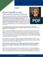 Profiles in Public Integrity - Marjorie Landa