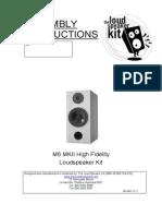 Speakers- Kit Instructions