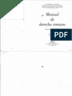 Manual de Derecho Romano Arguello