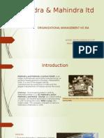 Mahidra and Mahindra Ltd.