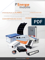 Catalogue Energie Mobile 2014