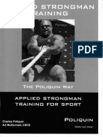 Applied Strongman Training Part 1