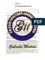 GUÍA GENERO DRAMATICO 7° AÑO