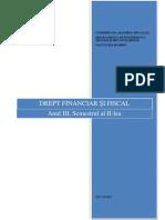 Drept Financiar Si Fiscal Unitatea I