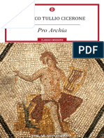 Pro Archia - Marco Tullio Cicerone