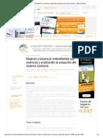 1996 - Mujeres y Lactancia, Entendiendo Sus Vivencias y Analizando La Actuación Del Sistema Sanitario - Editorial Elsevier