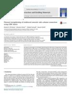 Flexural Strengthening of Reinforced Concrete Slab–Column Connection